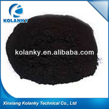 Solid sulfonated bitumen