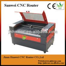 Sw-6040 de transmissão correia praça guid rail usado máquina de corte a laser corte de aço