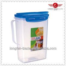 airtight lid 1.5L plastic water pitcher