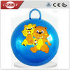 Toy pvc round handle jumping ball