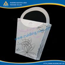 transparent pp folding carton for packaging