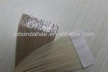 Hot Selling Brazilian Virgin Human Hair Tape Hair Extensions