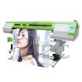 Venda diretamente da fábrica etiqueta do carro da máquina de impressão/eco impressora solvente com dois dx5 cabeça
