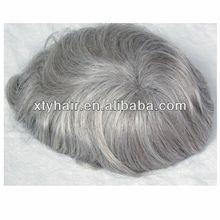 Aliexpress hair men's toupees dying mens gray hair man wig