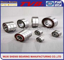 double row steel cage Angular Contact Ball Bearings