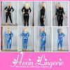 Mix order black/blue tight high quality cheap sexy catsuits and bodysuits