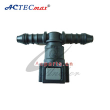 Fuel Fittings for Hose, Size 7.89-ID6 TEE JOINT Fuel Line Quick Connector, Hose Fittings