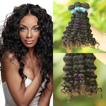wholesale virgin eurasian deep wave hair 100% human unprocessed remy hair