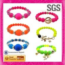 2014 Brand New Cheap Promotion Gifts Acrylic Fluorescence Bracelet