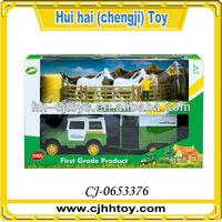 2014 hot sales farm toys set farm tractor trailer
