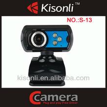 Night vision usb vga 360 webcam rotation for computer