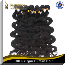 2014 hot sales virgin cheap human hair extensions shanghai