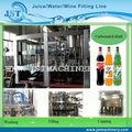 Boa qualidade automático rotativo aerado bebidas equipamentos de produção