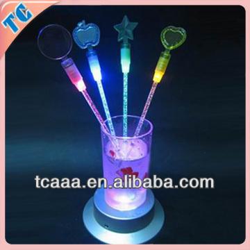 flashing led cocktail stirrers