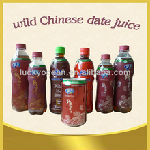 natural wild jujube juice tin/bottle package