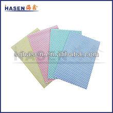 diamond pattern printing chemical bond nonwoven clean fabric