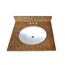 smart design vanity top with ceramic basin,granite slabs for american market