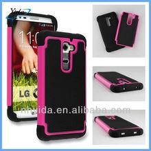 Net Dot Cell Phone Case For LG G2 Plastic Mesh Hard Case