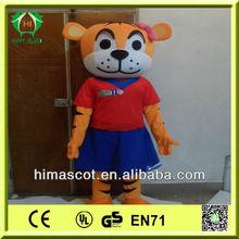 HI CE top quality adult tony the tiger costume