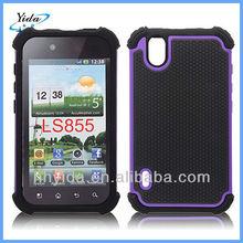 Net Dot Cell Phone Case For LG P970 Case Plastic Mesh Hard Cover