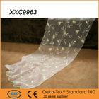 luxury white embroidered organza wedding decoration drape