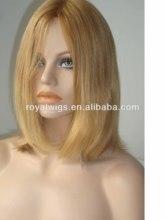 Virgin Blond Hair Hot Beauty Natural Looking Jewish Wig Kosher Wigs