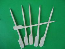 "Bamboo Skewers 12"" Inch Wood Sticks BBQ Shish Kabob Party Appetizer Picks"