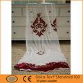 de lujo 2014 popular estilo de bordado neto cortinas