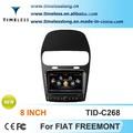 S100 gps per auto fiat Freemont con gps chipset a8 3 zone pop 3G/WiFi bt 20 da gioco dics
