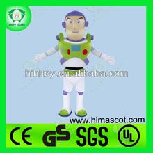 hola en71 increíble de buzz lightyear traje de la mascota