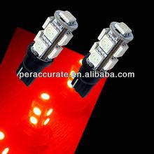 Super bright T10 5050 9SMD China car parts led light for car 9smd T10 led work light
