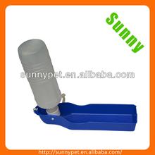2014 New Design Long-time Service Portable Foldable Blue PP Pet Dog Drinking Bottle