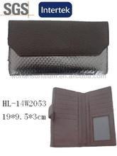 wholesale large envelope purse silver double clutch wallet