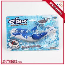de plástico juguetes para la bañera de la natación realista de pescado