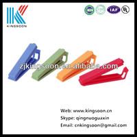 cheap colorful plastic clip