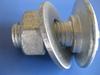 M8-M64 carbon steel high strength 8.8 grade HDG guardrail bolt
