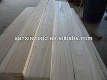paulownia wood paneling strips