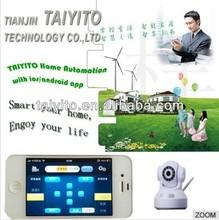 2014Tianjin TYT Zigbee home automation web camera/zigbee system