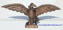 handcarved marrone aquila arpia figurine unica scultura di legno di origine animale uccello scultura da collezione folk etnico tribale arte statue decorazione