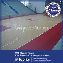 Rubber Of Basketball Flooring Portable