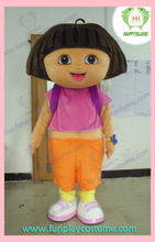 HI character dora the explorer mascot costume