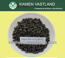 High quality npk 5-2-2 pure organic natural fertilizer