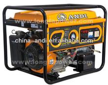 New design 6.5hp 2KW Gasoline Generator Set Series Price ANDI