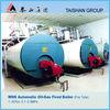 Shell type bunker oil Steam boiler