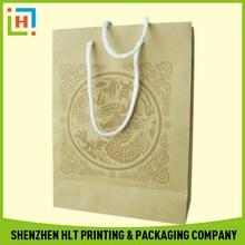 Top grade classical santa paper bags