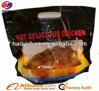 Plastic hot roast chicken packing
