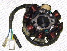 8 coil Magneto Alternator Stator for GY6 125cc 150cc 152QMI 157QMJ Taotao Kazuma Baotian Jmstar Jonway Scooter ATV Quad Go Kart