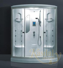 Deluxe steam sauna room,shower steam and sauna enclosed