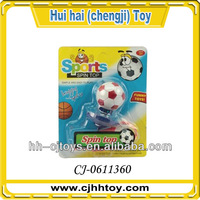 promotional kids toys football spinning top