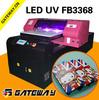 Wide format 5 colors digital led uv Inkjet 3d printer manufacturers